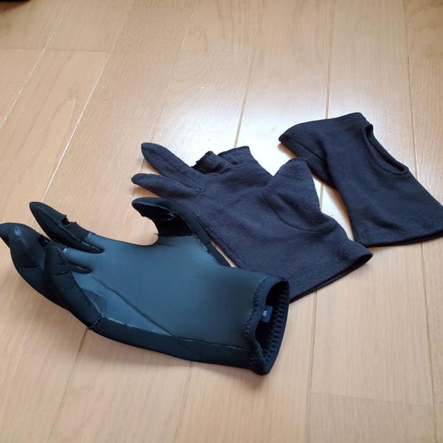 釣り防寒手袋